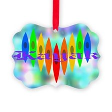 2-Tintedrainbowheart Ornament