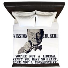 Churchill Liberals and Conservatives li King Duvet