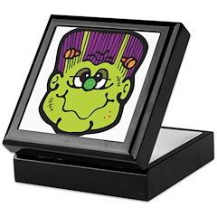 Silly Frankenstein Head Keepsake Box