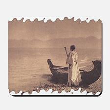 KutenaiWoman1910Curtis (framed with ArtE Mousepad