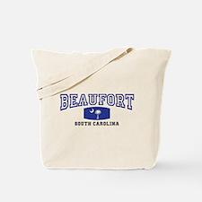 Beaufort South Carolina State Palmetto Flag Tote B