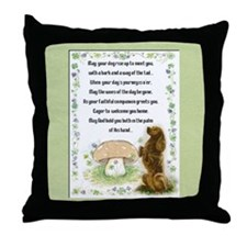 Blessing of the Dogs Throw Pillow