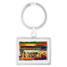 Brents Drugs Landscape Keychain