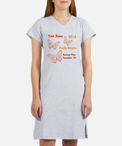 Butterfly Family Reunion Women's Nightshirt