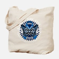 Child-Abuse-Prevention-Butterfly-Tribal-b Tote Bag