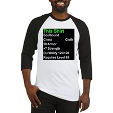 shirt of strength Baseball Jersey