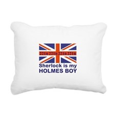 Holmes Boy Sherlock Rectangular Canvas Pillow