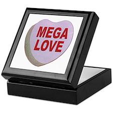 Mega Love Valentine Candy Heart Keepsake Box