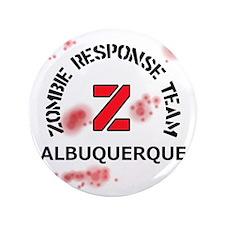 """Zombie Response Team Albuquerque 3.5"""" Button"""
