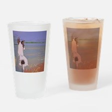 LookingOutToSeaCafepress Drinking Glass