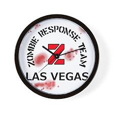 Zombie Response Team Las Vegas Wall Clock