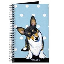 KiniArt Tricolor Corgi Journal