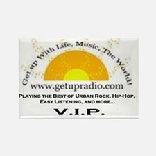 getupradio promo model vip Rectangle Magnet