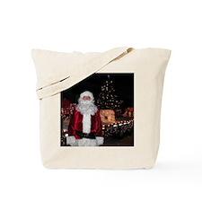 Santa Alan Webber Tote Bag