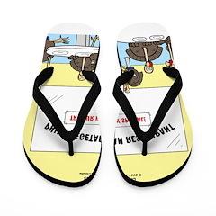 Veggy Turkeys Flip Flops