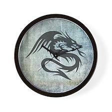Dragon Art Wall Clock