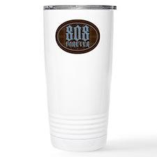 2-808-forever--chocolate-stripe Travel Mug