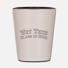 Vet Tech Class Of 2014 Shot Glass