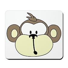 MonkeyFace-5in-600 Mousepad
