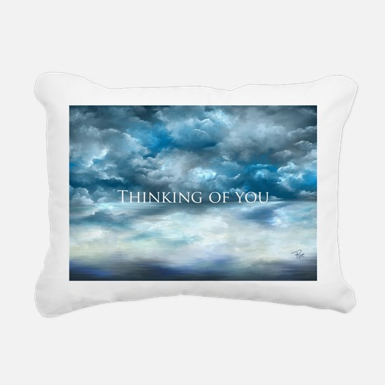 Thinking of you Rectangular Canvas Pillow