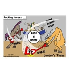 Rocking Horses Postcards (Package of 8)