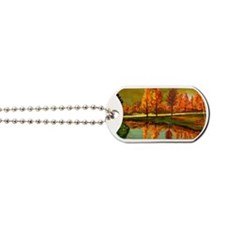 14x10 Fall colors Dog Tags