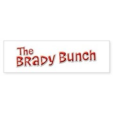 The Brady Bunch Bumper Bumper Sticker