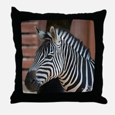 Zebra I Throw Pillow