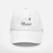 Pretty Maine Baseball Baseball Cap