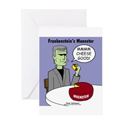 Frankensteins Muenster Greeting Card