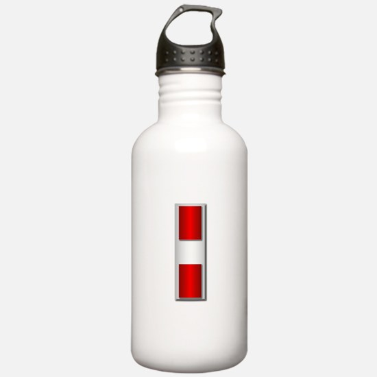 USMC - CW3 - No Txt Water Bottle