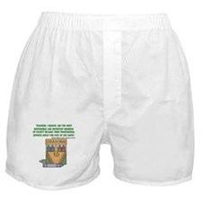 Teacher's, I Believe - Quote Boxer Shorts