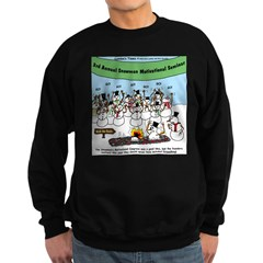 Snowman Seminar Sweatshirt (dark)
