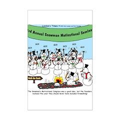 Snowman Seminar Posters