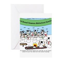 Snowman Seminar Greeting Cards (Pk of 20)