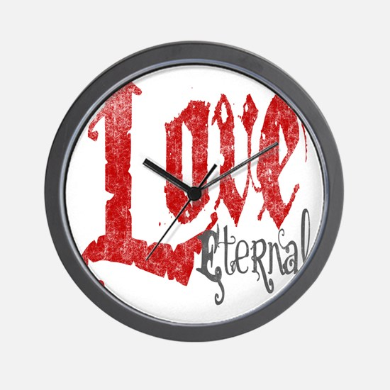 vampire-love-eternal Wall Clock