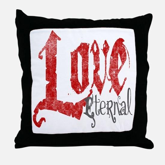 vampire-love-eternal Throw Pillow