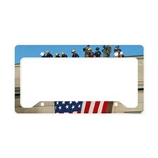 2-Pentagon 9 11 Flag Cap License Plate Holder