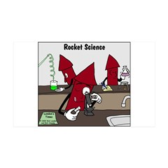 Rocket Science Wall Decal