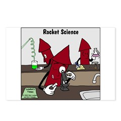 Rocket Science Postcards (Package of 8)