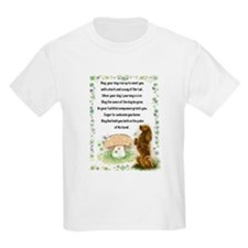 Blessing of the Dogs Kids T-Shirt
