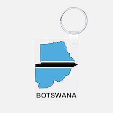 Botswana1 Keychains