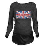 Vintage United Kingdom Long Sleeve Maternity T-Shi