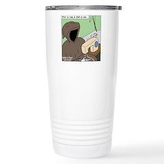 Reaper Sewing Travel Mug