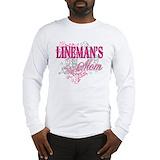 Lineman Long Sleeve T-shirts