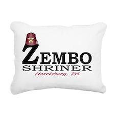 zembo_fez_basic_light Rectangular Canvas Pillow