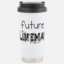 future lineman black Stainless Steel Travel Mug