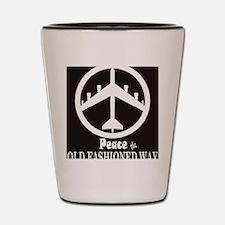 peaceB52.gif Shot Glass