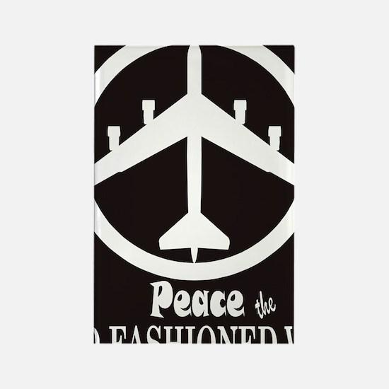 peaceB52.gif Rectangle Magnet