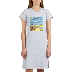 Days of Whine and Moses Women's Nightshirt